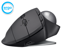 LOGITECH MX ERGO Advanced Wireless Trackball Mouse