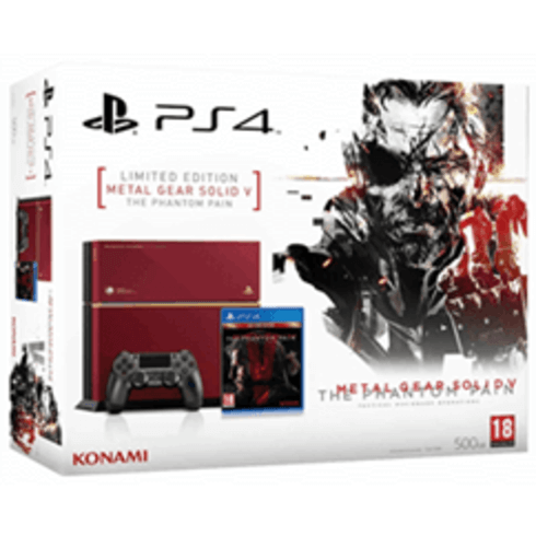 Metal Gear Solid V Phantom Pain Limited PS4
